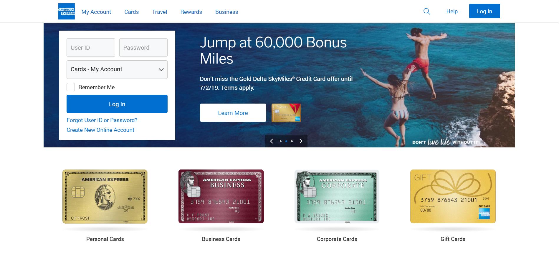 Liste des meilleurs fournisseurs de cartes de crédit virtuelles gratuites en 2019, American Express